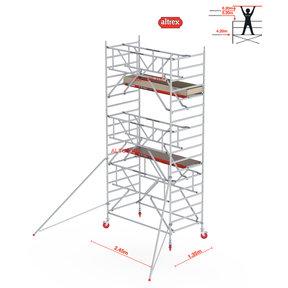 Gevelvrij* 1.35 x 2.45 x 6.20m WH Safe-Quick RS Tower 42-S