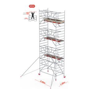 Gevelvrij* 1.35 x 2.45 x 8.20m WH Safe-Quick RS Tower 42-S
