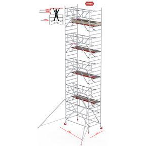 Gevelvrij* 1.35 x 2.45 x 10.20m WH Safe-Quick RS Tower 42-S