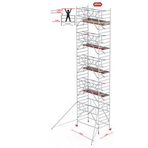 Gevelvrij* 1.35 x 2.45 x 11.20m WH Safe-Quick RS Tower 42-S
