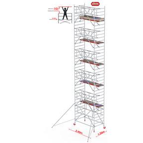 Gevelvrij* 1.35 x 2.45 x 12.20m WH Safe-Quick RS Tower 42-S
