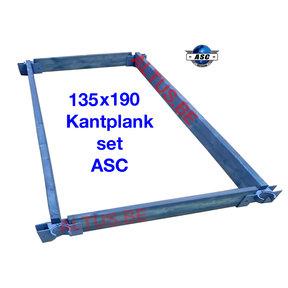 ASC Kantplankset hout 135x190