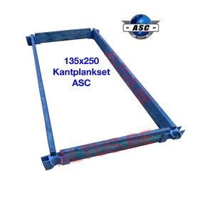ASC Kantplankset hout 135x250
