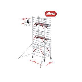 Gevelvrij* 1.35 x 1.85 x 7.20m WH Safe-Quick RS Tower 52-S