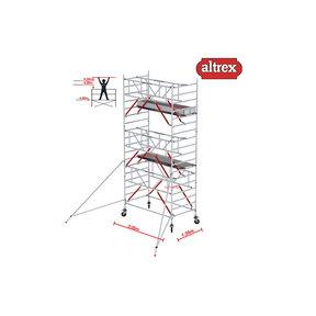 Gevelvrij* 1.35 x 3.05 x 6.20m WH Safe-Quick RS Tower 52-S