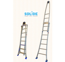 Solide 2- delige puntladder  7/5 treden