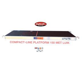 Compact-line platform met luik 1500mm