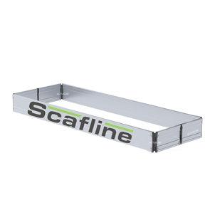 Aluminium kantplankset smal 75 x 190 scafline