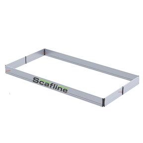 Aluminium kantplankset smal 135 x 250 scafline