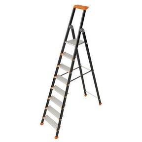KOLOS enkele trapladder 8 treden