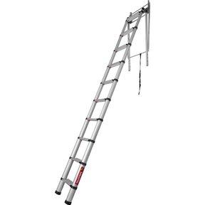 Telescopische zoldertrap Loft Line Maxi 1 -3 m
