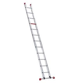 enkele ladder 12 treden 3.40 m recht model ATLAS