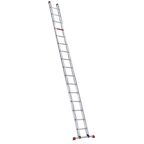 enkele ladder 16 treden 4.50 m recht model ATLAS