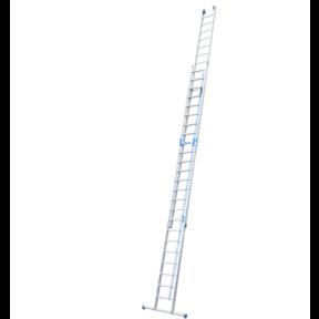 2-delige touwladder 2 x 24 treden
