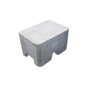 Dakrandbeveiliging blok beton 22,5 kg