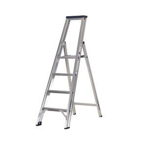 Premium enkele trapladder 4 treden