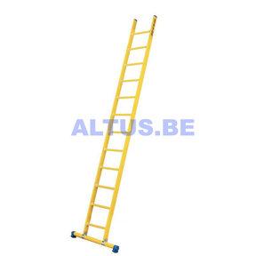 Enkele GVK ladder 12 sporten met stabibalk