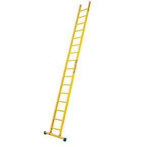 Enkele GVK ladder 16 sporten met stabibalk