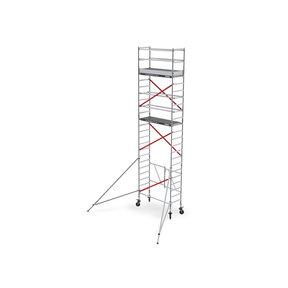 RS TOWER 54 - smal 0,75m x 1,85m x 7,80m werkhoogte