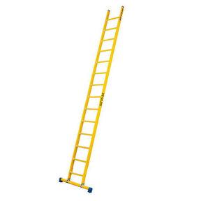 Enkele GVK ladder 14 sporten met stabibalk