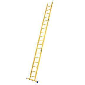 Enkele GVK ladder 18 sporten met stabibalk
