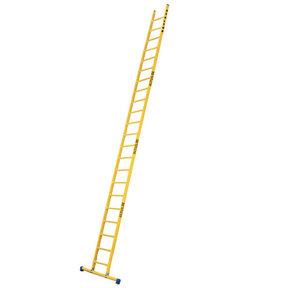 Enkele GVK ladder 22 sporten met stabibalk