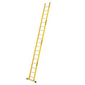 Enkele GVK ladder 18 alu sporten met stabibalk