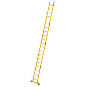 Enkele GVK ladder 20 alu sporten met stabibalk