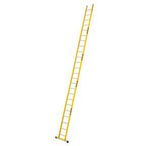 Enkele GVK ladder 24 alu sporten met stabibalk