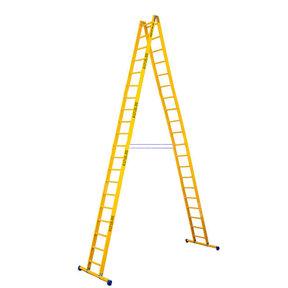 Dubbele GVK ladder 2x20 sporten met stabibalk