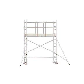 4.20m werkhoogte x 75cm breedte x 190cm platformlengte