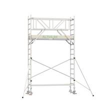 Professionele rolsteiger 5.20m werkhoogte x 75cm breedte x 190cm platformlengte