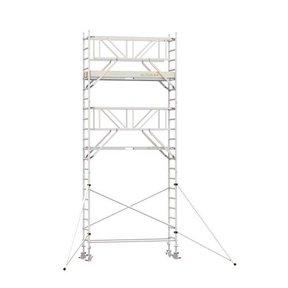 7.20m werkhoogte x 75cm breedte x 190cm platformlengte