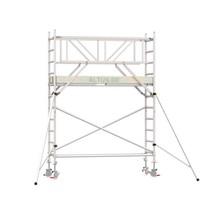 Professionele rolsteiger 4.20m werkhoogte x 75cm breedte x 250cm platformlengte