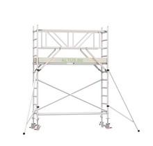 Professionele rolsteiger 4.20m werkhoogte x 90cm breedte x 190cm platformlengte