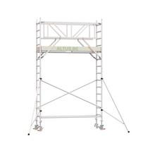 Professionele rolsteiger 5.20m werkhoogte x 90cm breedte x 190cm platformlengte