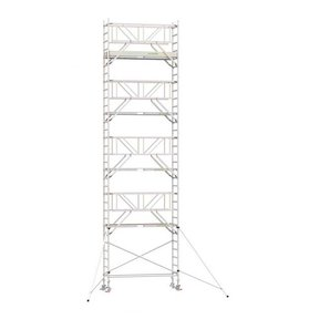 10.20m werkhoogte x 90cm breedte x 190cm platformlengte