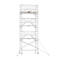 Professionele rolsteiger 8.20m werkhoogte x 135cm breedte x 190cm platformlengte