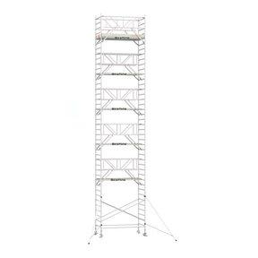 13.20m werkhoogte x 135cm breedte x 190cm platformlengte