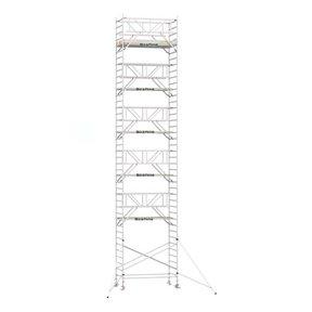 13.20m werkhoogte x 135cm breedte x 250cm platformlengte