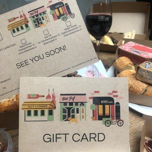 Gift Card Alex+Pinard
