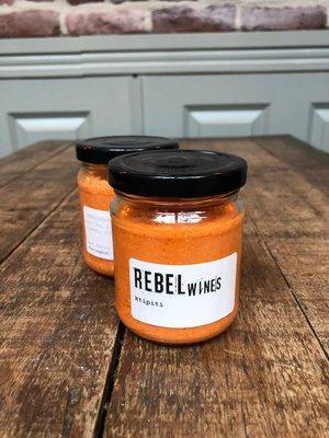 goodness in a jar Pot ktipiti (rode peper + feta)