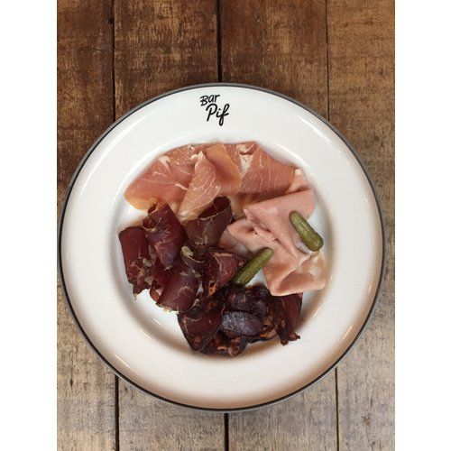 Bar Pif Combi bresaola, morcilla, prosciutto + mortadella