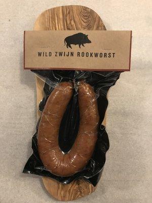Wild van Wild wild zwijn rookworst