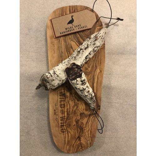 Wild van Wild dry sausage - wild goose / coriander / fennel