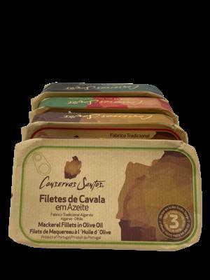 Conservos Santos Mackerel in olive oil