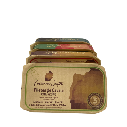 Conservos Santos Makreel in olijfolie