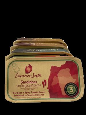 Conservos Santos Sardines in pittige tomatensaus