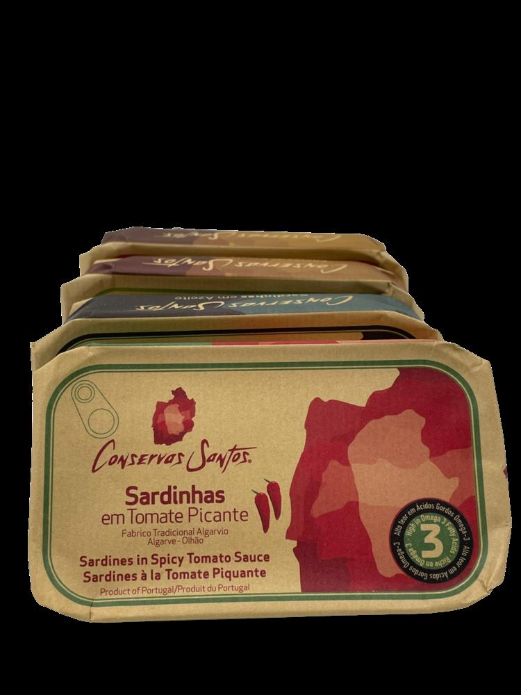 Conservos Santos Sardines in spicy tomato sauce