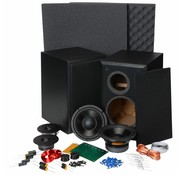 Dayton Audio BR-1 | DIY Kit | Components and Cabinets